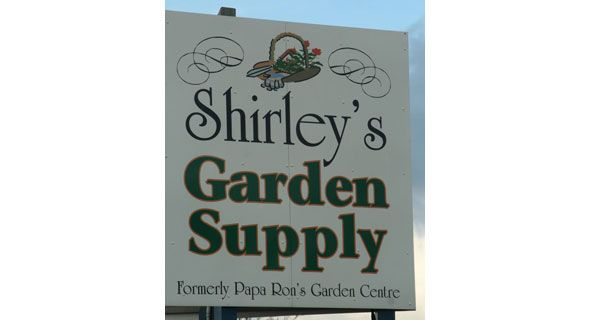 shirley's Garden Supply Inventory